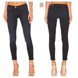 rag & bone jeans Capri Dark Wash Indigo Denim Crop
